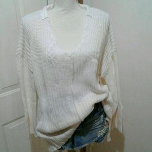 NWOT Cotton Emporium M Oversized Bulky Sweater